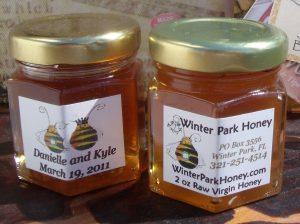 Honey Wedding Favors personalized 24 x 2 oz FREE SHIPPING